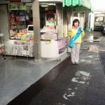 今朝は岡部駅